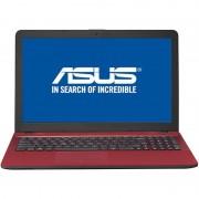 Laptop Asus VivoBook X541UA-GO1709 15.6 inch HD Intel Core i3-7100U 4GB DDR4 500GB HDD DVD-RW Endless OS Red