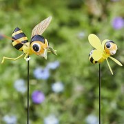 Kerti dekorációs méhecske figura 50 cm – 2