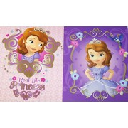 Disney Sofia The First Folder 2 Pack ~ Real Life Priness, Princess From Within