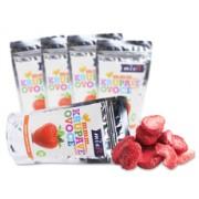 Chrumkavé ovocie jahoda 65g