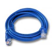 Linkbasic 3 Meter UTP Cat6 Patch Cable Blue - CAT-6-3m-Blue