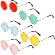 like future Round Sunglasses(Pink, Red, Yellow, Blue, Green)