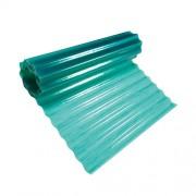 Hullámlemez zöld 200cm/20m üvegszálas