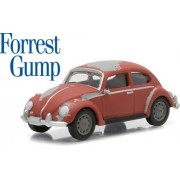 New 1:64 Hollywood Series 12 Collection Forrest Gump Red Volkswagen Classic Beetle Diecast Model Car By Greenlight