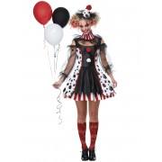 Deguisetoi Déguisement clown psycho robe femme - Taille: L (42/44)