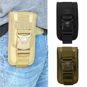 Outdoor Camping Tactical Cell Phone Bag Case Waist Pack Molle Belt Card Holder Pouch