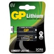 Gp Batteries Blister 1 Batteria a Bottone al Litio 2CR5-C1