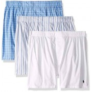 RALPH LAUREN Polo Ralph Lauren Classic Fit Woven Cotton Boxers 3-Pack