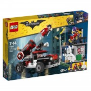 LEGO Batman Movie Harley Quinn kanonskogelaanval 70921