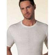 Nottingham Облегающая мужская футболка белого цвета из высококачественного хлопка Nottingham TM 1702