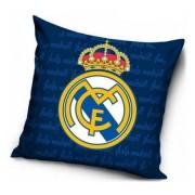 Real Madrid párnahuzat sötétkék 40x40cm