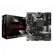 Asrock AMD AM4 Socket A320M chipset (mATX) MB ASR-A320M-HDV-R4.0