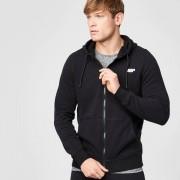 Myprotein Tru-fit hoodie met rits - S - Zwart