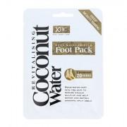 Xpel Coconut Water Deep Moisturising Foot Pack maschera idratante per i piedi 1 pz