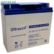 ULTRACELL 12V 18 Ah akkumulátor