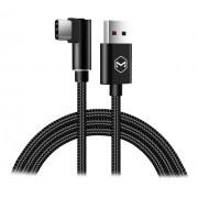 Mcdodo USB-A - USB-C 90° vinkel, 5A, 1m, svart