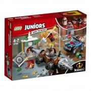 LEGO Juniors - Incredibles 2, Jaful de la banca cu Subminatorul 10760