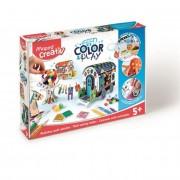 Kreatív készségfejlesztő készlet, MAPED CREATIV, \Color and Play\, karaván