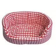 Dog en Cat Bed Red (Win Green - groot)