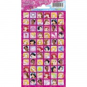 Disney prinsessen stickervel 66 stickers