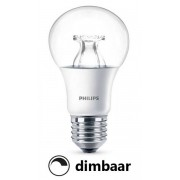 Philips E27 led-lamp peer helder WarmGlow dimbaar 8.5W (60W)