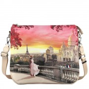 Y Not? Borsa Donna CrossBody a Tracolla Y NOT L-391 Mont Martre