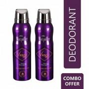 Mistpoffer Virago Perfumed Deodorant Body Spray Combo Offer Pack of 2 for Women 150 ml Each
