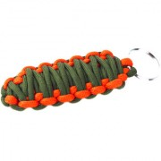 Paracord 550 Best Survival Grenade keychain for Camping Hiking Outdoor Activities military green orange