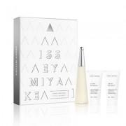 Issey Miyake - L'Eau D'Issey edt 50ml + testápoló 50ml + tusfürdő 50ml (női parfüm szett)