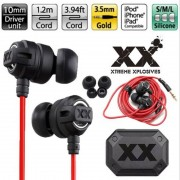 XEDAIN X6 Headphones fashion HA-FX1X Xtremed headsets Stereo In-Ear Earphone Deep Bass earphones for iPhone Samsung MP3 MP4 PC