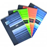 Blocnotes A4+ cu spirala, 80 file - 90g/mp, 4 perforatii, OXFORD Easy Notes - dictando