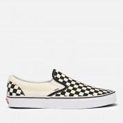 Vans Classic Slip-On Trainers - Black/White Checkerboard - UK 10