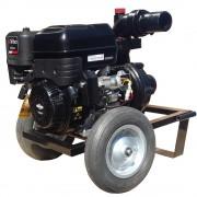 Motopompa DWP 420 BS4X-Apa fierbinte si reziduala