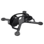 Realacc Land150 150mm Wheelbase 3mm Arm X Type 3 Inch Carbon Fiber FPV Racing Frame Kit for RC Drone
