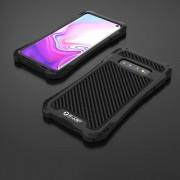Skydd mot stötar, damm och vatten i metal till Samsung Galaxy S10 Svart