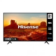 "Телевизор Hisense A7100F 50"", 4K Ultra HD 3840x2160, LED, HDR, Smart TV, WiFi, BT, 3xHDMI, 2xUSB, LAN, DVB-T2/C/S2, Черен"