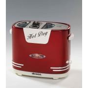 Ariete 186 Pentola a vapore per Hot dog Rosso, Bianco