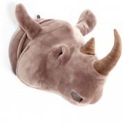Linnea Peluche trophée Rhinocéros Michael collection Savane