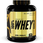 Spartan Nutrition Whey Protein Gold Series - 5LBS Double Chocolate