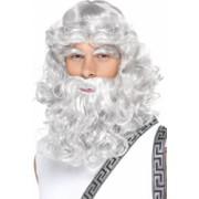 Set de peruca si barba de Zeus