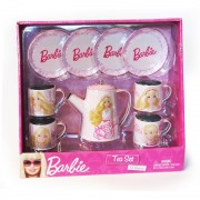Set metalic ceai Barbie Faro