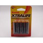 Kodak LR6 AA xtralife baterie alcalina 1,5V MN1500 KAA-4