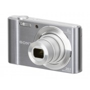 Sony Cámara Compacta SONY CYBER-SHOT DSC-W810 (Plata - 20.1 MP - ISO: 100 a 3200 - Zoom Óptico: 6x)