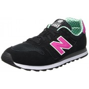 New Balance Women's 373 Black Sneakers - 6.5 UK/India (40 EU) (8.5 US)