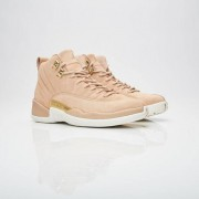 Jordan Brand Wmns Air Jordan 12 Retro Vachetta Tan/Metallic Gold/Sail