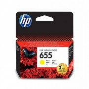 HP 655 Yellow Ink Cartridge (CZ112AE)