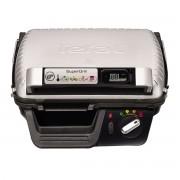 Grill Tefal SuperGrill GC451B12, 2000 W, 4 setari termostat, Cronometru digital, Inox/Negru
