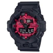 G Shock Ga700Ar Adrenaline Series Watch Black Red