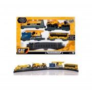 Tren Motorizado Con Poderosa Locomotora Disel Cat - 55450