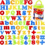Leoie 78pcs/Set Magnetic Letters Numbers for Kids Educational Alphabet Refrigerator Magnets